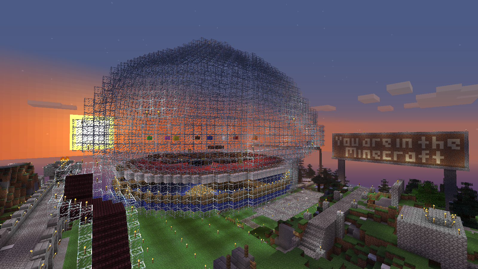 Enderman Arena of Music from outside
