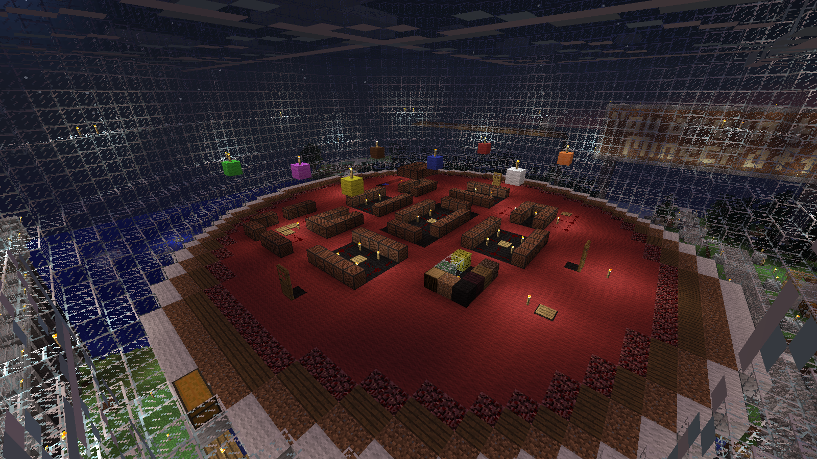 Instruments in Enderman Arena of Music